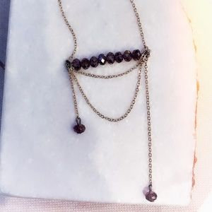 "Handmade ""The Krista"" Amethyst Necklace"